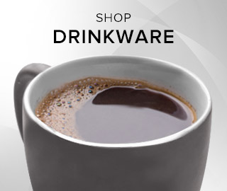 Picture of a mug filled with coffee. Click to shop Drinkware.